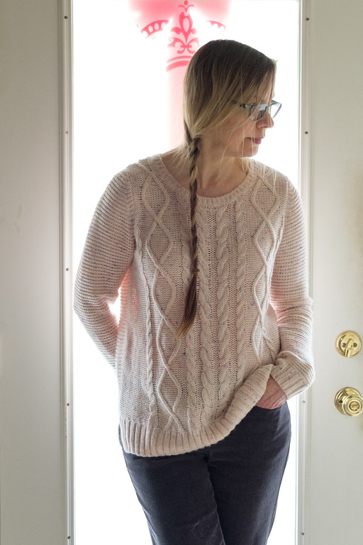 Sonoma Pink Sweater from Kohl's | Fashion Over 50