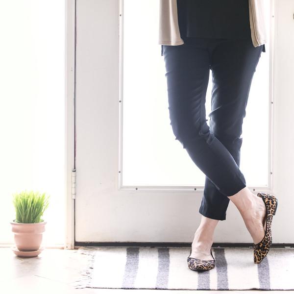Cute leopard print shoes