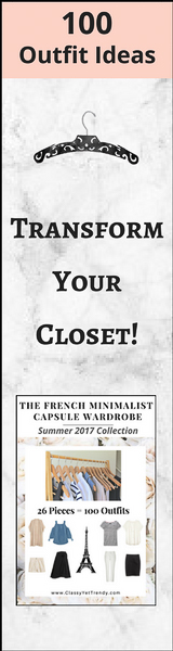 French Minimalist Capsule Wardrobe
