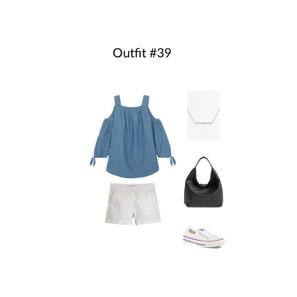 Outfit #39 French Minimalist Capsule Wardrobe