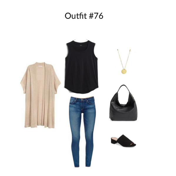 Outfit #76 from French Minimalist Capsule Wardrobe