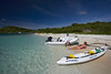 Guests on beach,Antigua