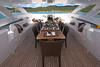 Top deck dining