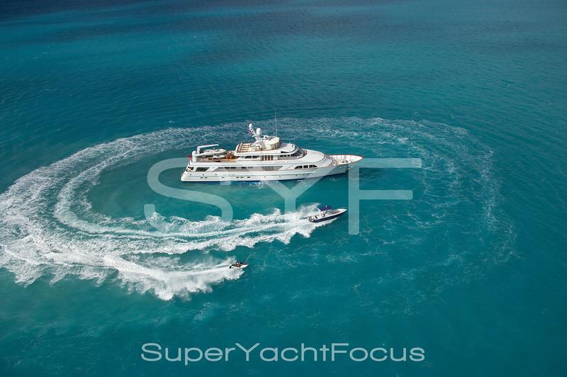 Watersports,motoryacht at anchor,Antigua