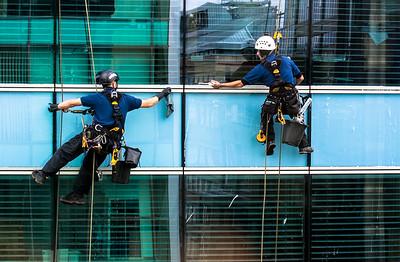 Window Cleaners, Glasgow