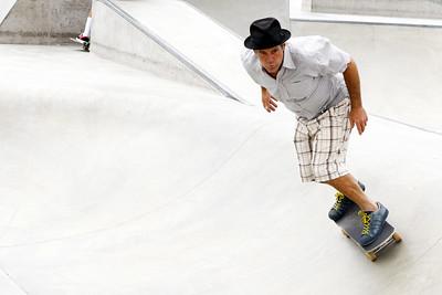 Skateboarder, Venice Skate Park, California