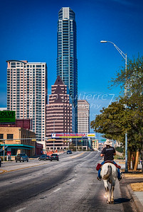 Horseback into Austin