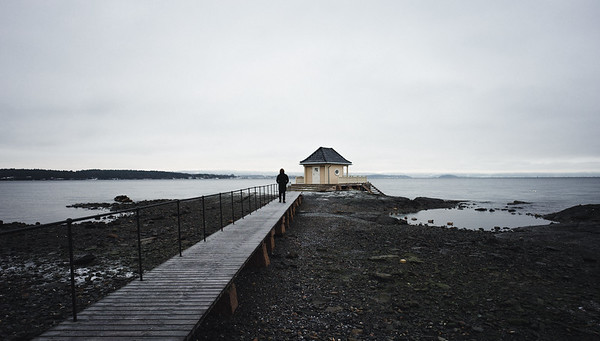 Bath house of Fornebu