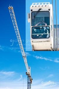 High Crane worker