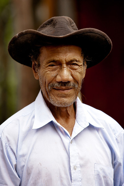 A Nicaraguan farmer.