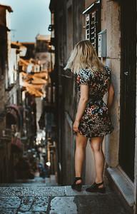 Girl in Croatia