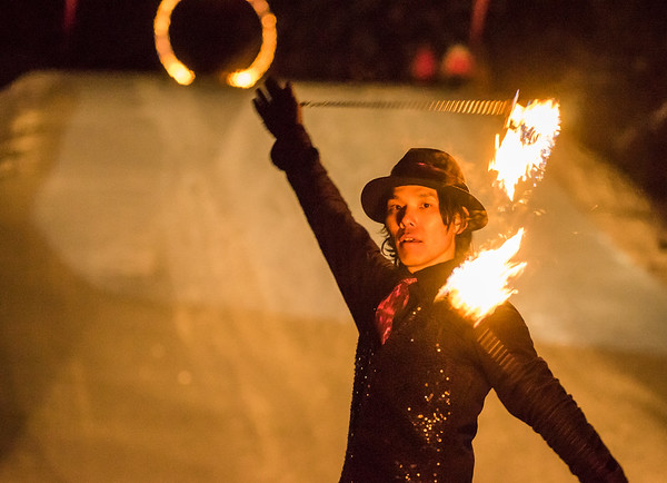 Whistler Fire and Ice Show