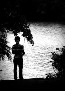 Fishing alone