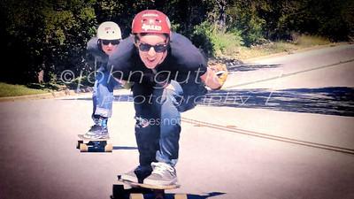 skateboarder frame