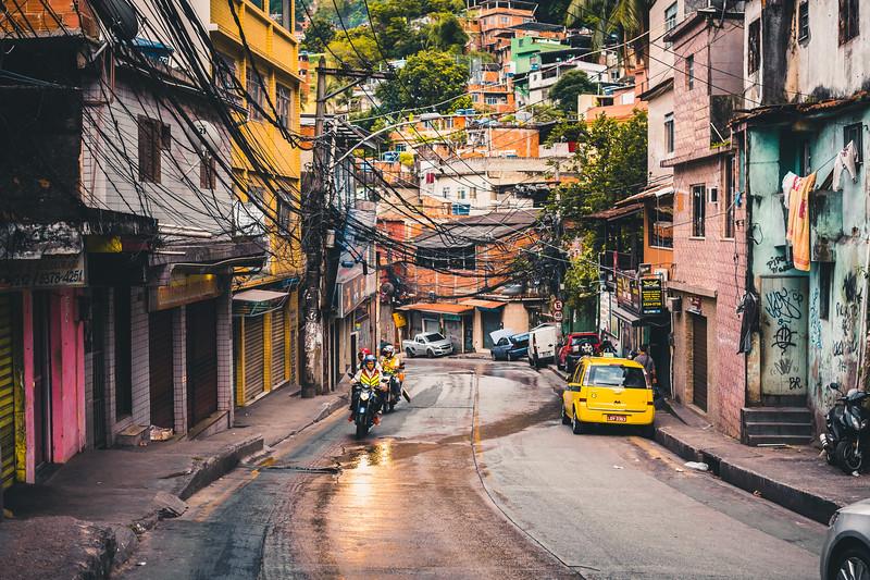 Favelas of Rio, Brazil