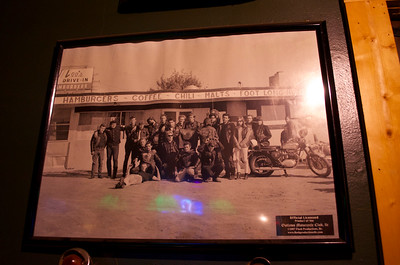 Framed Photograph at Kelly's Bar, Hamtramck, Michigan