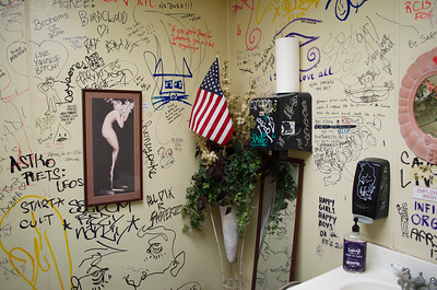 The Ladies Room, Kelly's Bar, Hamtramck, Michigan