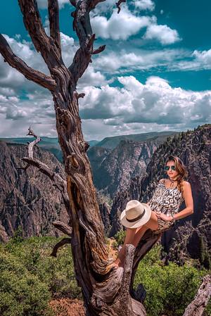 """On The Edge"" @ Black Canyon NP (Gunnison, CO)"