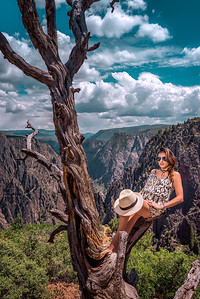 """On The Edge"" @ Black Canyon NP (Gunnison, CO)"