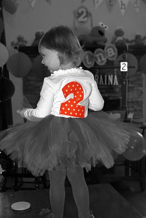Raina's 2nd Birthday Party