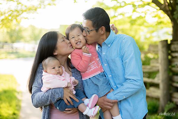 Yau Family Toddler & Infant Session