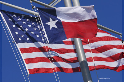Red, White and Blue and the Lone Star