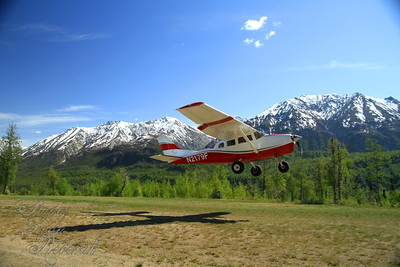 Aj's first Bush Flight