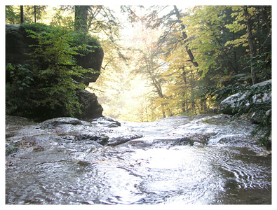 Kaaterskill Falls. Palenville, NY. 2004.