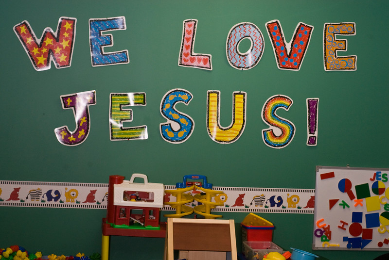 """God Chasers: The Brainwashing of a Generation"". Oneonta NY. 2009."