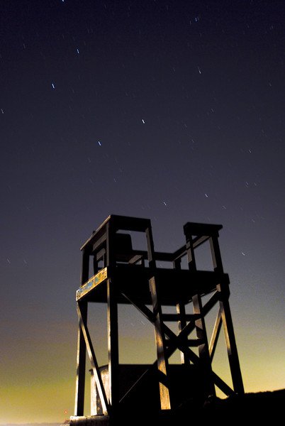 The Beach at Night, Assateague Island, VA. 2008.