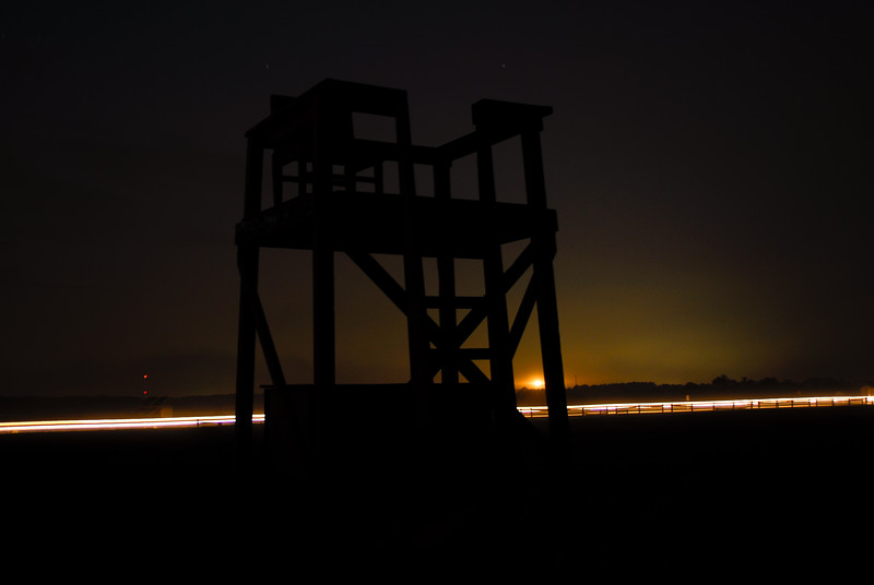 The Beach at Night, Assateague Island, VA. 2008.
