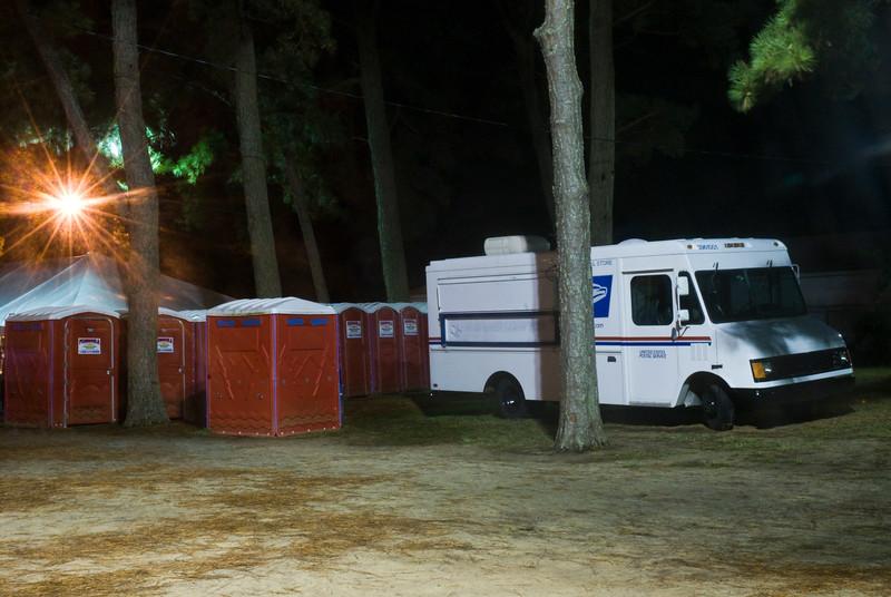 10PM. Chincoteague Island, VA. 2009.
