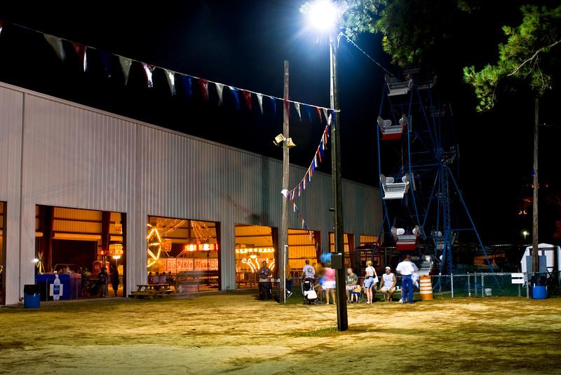 The Carnival at Night, Chincoteague Island, VA. 2008.