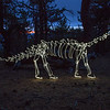 Blue Hour Brontosaurus