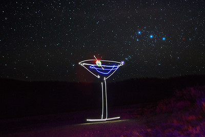 Orion's Stirs a Martini (With his Mighty Sword)