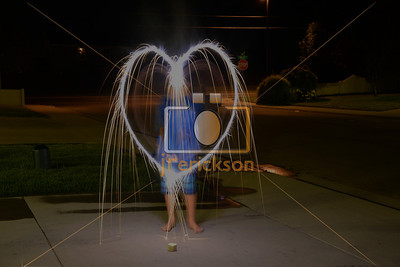Light Painting Boise Bday 4