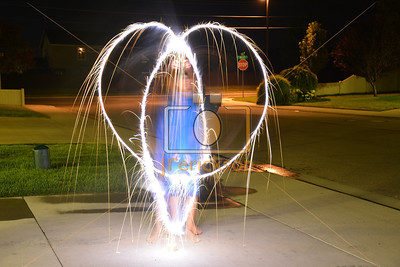 Light Painting Boise Bday 3