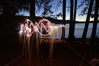 Light Painting July 4th 16