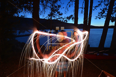 Light Painting July 4th 15