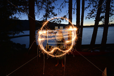 Light Painting July 4th 19