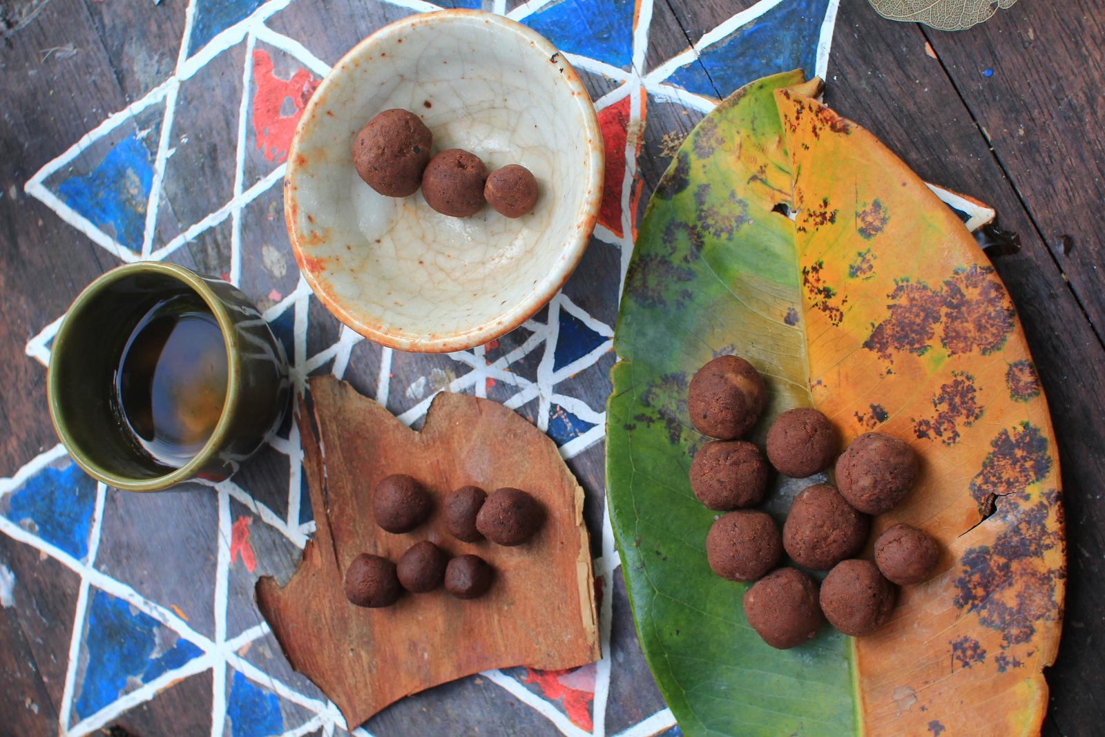 homemade chocolate balls