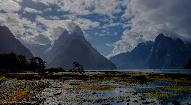 Tides Out Milford Sound