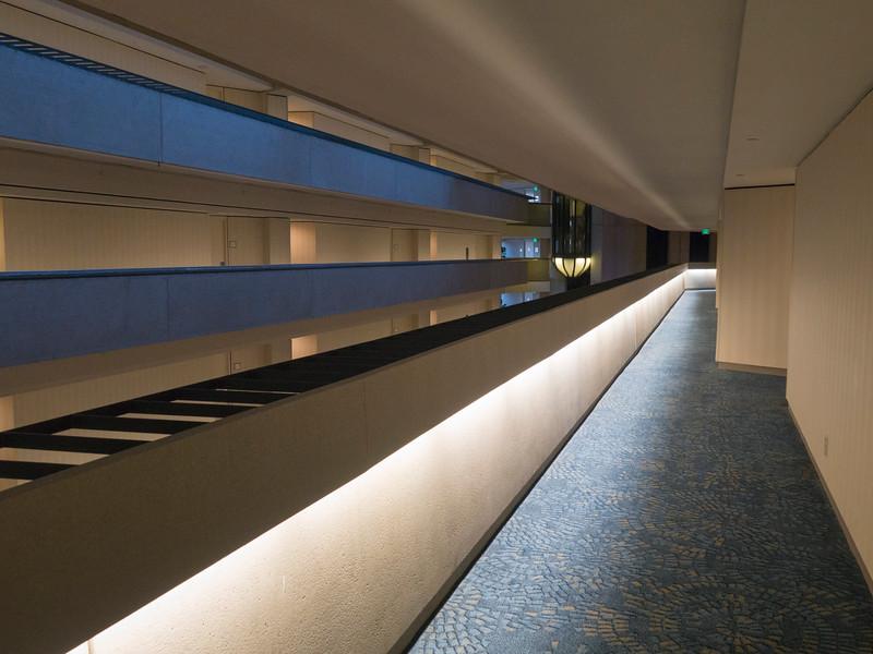 San Francisco Hyatt corridor