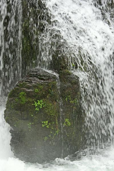 Above Multnomah Falls.