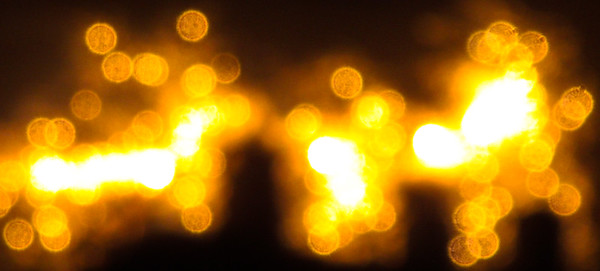 Wide Yellow Sparkles
