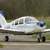 G-EVIE<br /> Piper PA28 Cherokee Warrior II<br /> Fife Airport, Glenrothes<br /> 4th April 2015