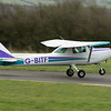 G-BITF<br /> Reims Cessna F152<br /> Fife Airport, Glenrothes<br /> 4th April 2015