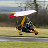 G-BYEW. Mainair Pegasus Quantum microlight. 15th February 2009 at Fife Airport, Glenrothes.