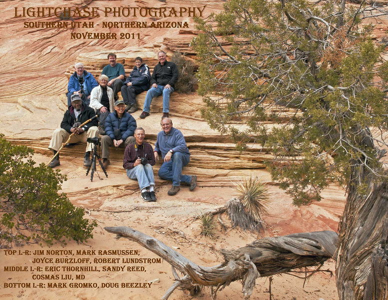 Southern Utah Tour Group - November 2011