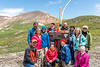 Colorado Wildflowers and High Basins Group at Cinnamon Pass, San Juan Mountains, Colorado - Doug Beezley - July 2015<br /> <br /> Front Row L-R: Brian Simpson (San Juan Jeep Tours driver and guide), Emily Jacob, Cathy Ren, Marti Gaulrapp<br /> Back Row L-R: Mark Rasmussen, Jenny Cummings, Krystal Jacob, Joe Maciejko, Doug Beezley, Sue Cole, Chris Sprik, Sandy Reed